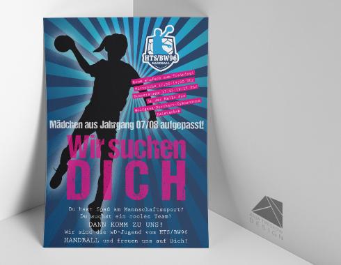 Handball Flyer